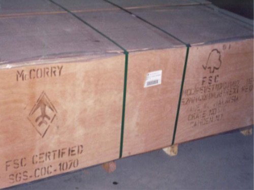 FSC Certified Hardwood Plywood